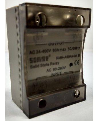 60 AMP, AC 90-280V RELEVADOR ESTADO SOLI